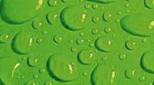 Гидрофобная поверхность с каплями воды