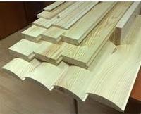 Пиломатериал - деревянный наличник для дверей