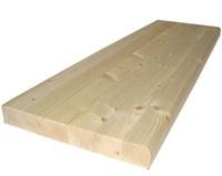 Ступень деревянная