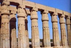 Каннелюры в Древнем Египте