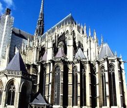 Аркбутаны собора в Амьене