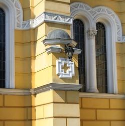 Контрфорс Владимирского собора в Киеве