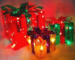 Подарочные коробки с подсветкой