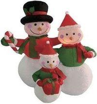 Надувные снеговики