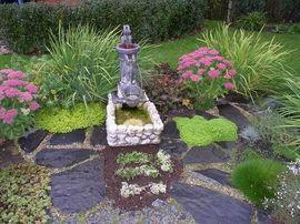 Красивый маленький сад