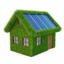 Солнечные батареи в коттедже