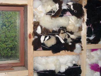 Меховой утеплитель для стен