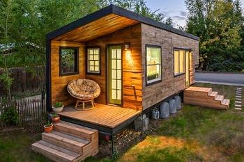 Современный маленький дом